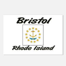 Bristol Rhode Island Postcards (Package of 8)