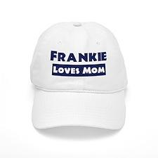 Frankie Loves Mom Baseball Baseball Cap