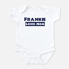 Frankie Loves Mom Infant Bodysuit