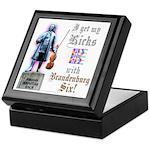Viola J S BachKeepsake Box