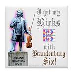 Bach Viola Tile Coaster