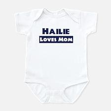 Hailie Loves Mom Infant Bodysuit