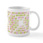 Fernberry Houndstooth Mug