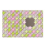 Fernberry Houndstooth Postcards (Package of 8)