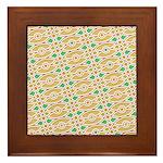 Sesame Eye Framed Tile