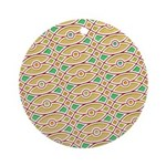 Sesame Eye Ornament (Round)