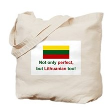 Perfect Lithuanian Tote Bag