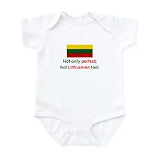 Perfect Lithuanian Infant Bodysuit