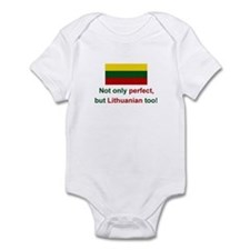 Perfect Lithuanian Onesie