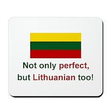 Perfect Lithuanian Mousepad