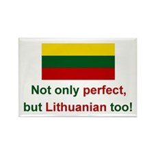 Perfect Lithuanian Rectangle Magnet (10 pack)