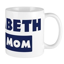 Elizabeth Loves Mom Mug