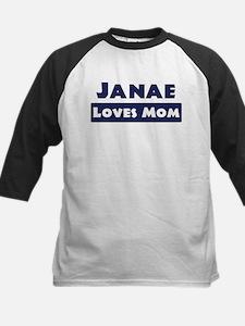 Janae Loves Mom Tee