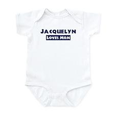 Jacquelyn Loves Mom Onesie
