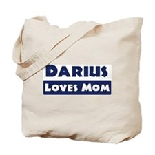 Darius Loves Mom Tote Bag
