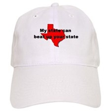 My state can beat up your sta Baseball Cap