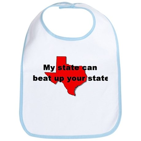 My state can beat up your sta Bib