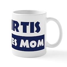 Curtis Loves Mom Mug