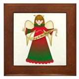 Christmas angels Framed Tiles