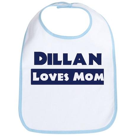 Dillan Loves Mom Bib