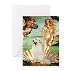 Venus / Great Pyrenees Greeting Card
