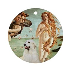 Venus / Great Pyrenees Ornament (Round)