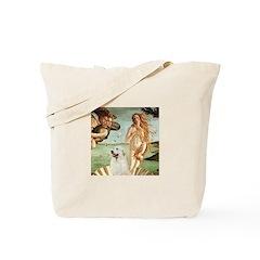 Venus / Great Pyrenees Tote Bag