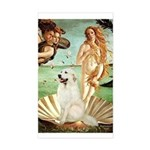 Venus / Great Pyrenees Sticker (Rectangle)