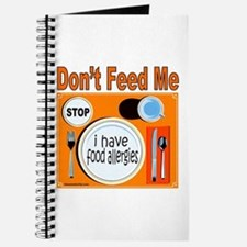 DON'T FEED ME Journal