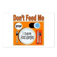 DON'T FEED ME Postcards (Package of 8)