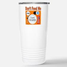DON'T FEED ME Travel Mug