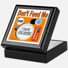 DON'T FEED ME Keepsake Box
