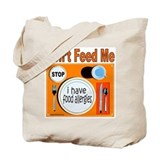Allergy Canvas Totes