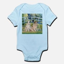 Bridge / Great Pyrenees (2) Infant Bodysuit