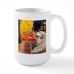 Cafe / Great Pyrenees Large Mug