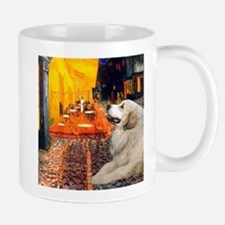 Cafe / Great Pyrenees Small Small Mug
