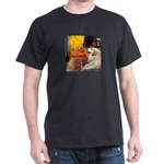 Cafe / Great Pyrenees Dark T-Shirt