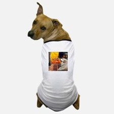 Cafe / Great Pyrenees Dog T-Shirt