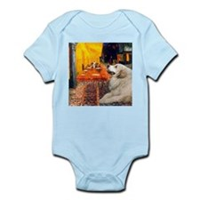 Cafe / Great Pyrenees Infant Bodysuit