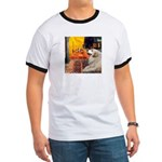 Cafe / Great Pyrenees Ringer T
