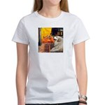 Cafe / Great Pyrenees Women's T-Shirt