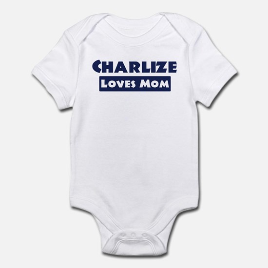 Charlize Loves Mom Infant Bodysuit