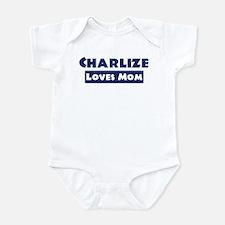 Charlize Loves Mom Onesie