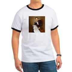 Lincoln / Great Pyrenees Ringer T