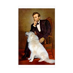 Lincoln / Great Pyrenees Decal