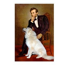 Lincoln / Great Pyrenees Postcards (Package of 8)