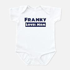 Franky Loves Mom Infant Bodysuit