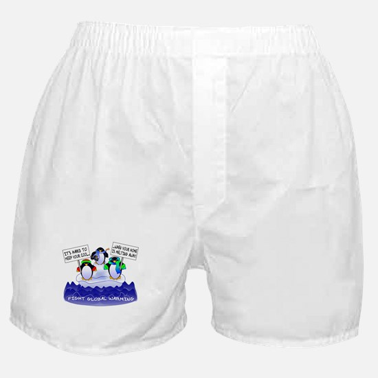 It's Hard To Keep Cool... Boxer Shorts