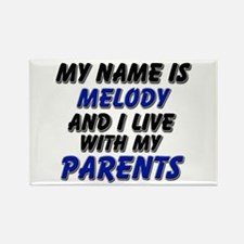 my name is melody and I live with my parents Recta