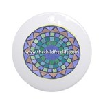 The Childfree Life Ornament (Round)